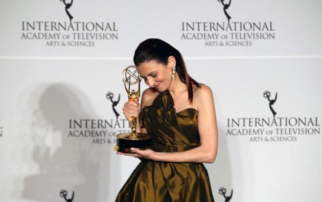 Gera Marina nyerte a legjobb színésznő díját a Nemzetközi Emmy gálán