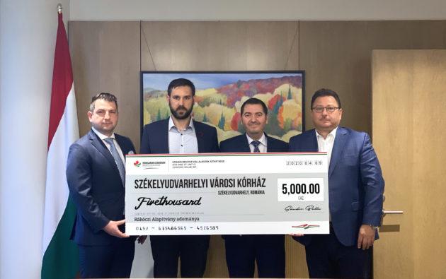 A Kárpát-medencei magyar kórházak megsegítésére indított adománygyűjtés hamarosan a végéhez közeledik